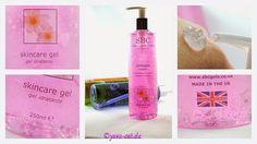 SBC Hydrogel, Simply Beautyful Collection, QVC, Aloe Vera, Collagen, Arnica, Lavendel, bei www.yasa-cat.de