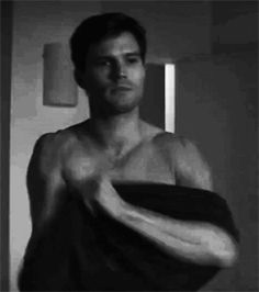"Jamie Dornan Fifty shades of grey movie ""Christian Grey - Shirtless """