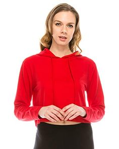 Crop Tops Pullover Womens Sweatshirt Coral Celvet Jacket Winter Coat Outwear with Ball Decor Drawstring