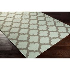 Hand-woven Carvin Moroccan Trellis Geometric Flatweave Wool Rug (5' x 8') | Overstock.com Shopping - The Best Deals on 5x8 - 6x9 Rugs