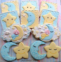 Moon. stars, baby cookies
