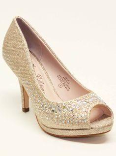 De Blossom Robin-50 Sparkle Peep Toe Medium Heel Pumps Shoes, $36.99 (http://www.fashionaras.com/de-blossom-robin-50-sparkle-peep-toe-medium-heel-pumps-shoes/)