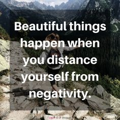 Such a strong message about positivity. Find more positive, motivational and inspirational quotes at #lorisgolfshoppe