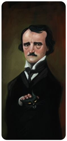 """ Edgar Allan Poe by César Samaniego """