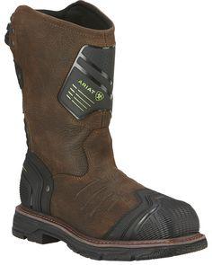 New Ariat Men's Catalyst VX Waterproof Composite Toe Work Boots Mens Boots from top store Ariat Work Boots, Ugg Boots, Silver Socks, Composite Toe Work Boots, Cool Boots, Western Boots, Leather Working, Men's Shoes, Footwear