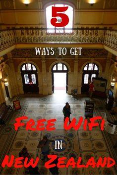 5 Ways to get Free Wifi in New Zealand - Gemma Jane Adventures