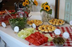 A Simple Kind of Life: Ashley & Kevins Baby Shower BBQ