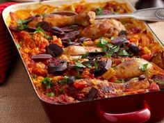Baked Chicken Paella