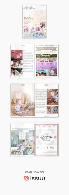 All Lovely Party Magazine 01  La revista de las fiestas handmade