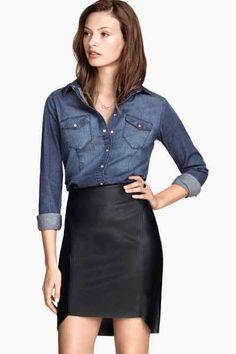 H&M. Camicia jeans