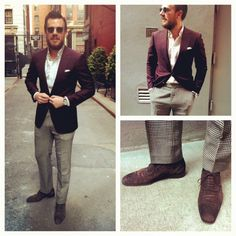 burgundy sport coat mens - Google Search | Wardrobe | Pinterest ...