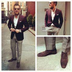 burgundy sport coat mens - Google Search | Wardrobe | Pinterest ...