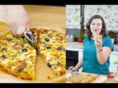 Hawaiian Pizza, Gluten Free Recipes, Mozzarella, Free Food, Glutenfree, Meals, Vegan, Youtube, Gluten Free Desserts