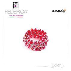Bracelet BETTA 3  Stretch chain crystal bracelet. Iridescent red. 1.800,00 Ksh http://www.federicafashion.com/it/ep190/bracelet-betta-3/ http://www.jumia.co.ke/federica-fashion/