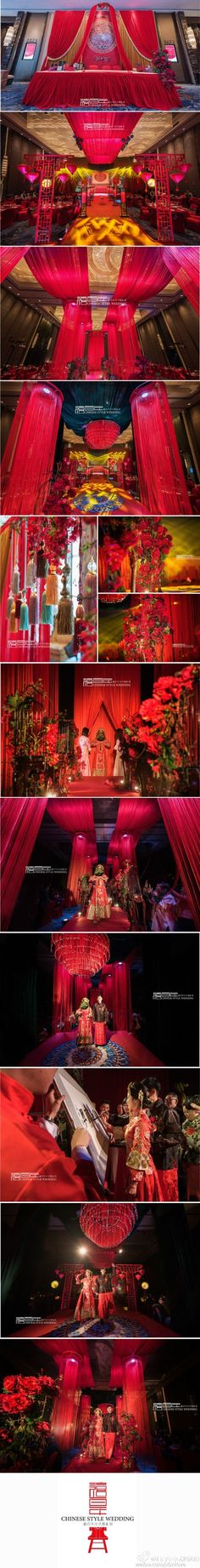 48 best wedding peranakan images on pinterest asia chinese and chinese wedding decororiental junglespirit Image collections