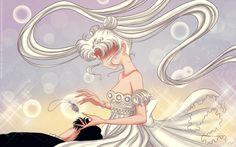 Awakening of Princess Serenity - wallpaper by selinmarsou on DeviantArt