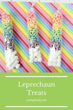 Catch a leprechaun with this leprechaun trap! These rainbow leprechaun treats are perfect for St. Patrick's Day. Kids love this DIY craft and it's an easy recipe for your holiday party or school treat! #leprechaun #stpatricksday #recipe #dessert #leprechauntrap #recipes #desserts #kids #holiday #foodie #nomnomnom #treats #holidays #rainbow #diy #crafts #kidscraft
