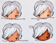 Copic markers coloring skin | Color Me Copic: Skin Colors - by Mary Giles