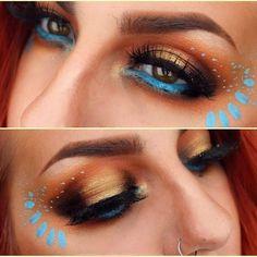 Bildergebnis für pocahontas maquillaje
