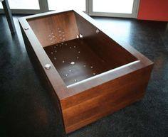 Vasca da bagno in legno di Alegna (Foto)   Designmag