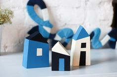 Home Crafts, Diy Crafts, Little Houses, Tiny Houses, Cute House, Kids Toys, Children's Toys, Miniature Houses, Paper Houses