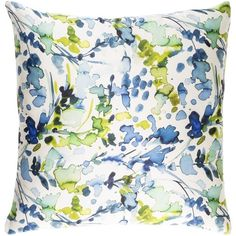 Decorative Frankie 18-inch Down or Poly Filled Throw Pillow