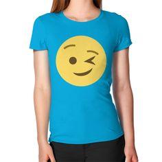Winking Emoji Women's T-Shirt