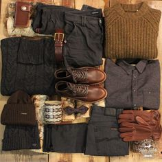 Outfit grid - Wardrobe essentials