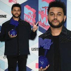 """The Weeknd venceu a categoria de vídeo do ano com """"Starboy"""" no EMA 2016."""