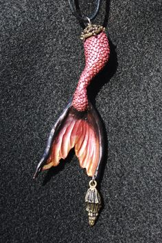 Rose Lucky Mermaid Tail medium by graciousandpure on Etsy, $40.00