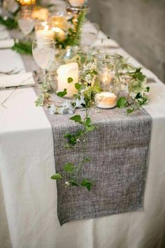 Table Decoration Wedding – 88 Festive Inspirations For Your Most ...
