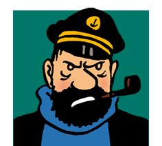 Capitaine Haddock! I love Tintin!  :)