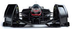 マクラーレンMP4-X(F1コンセプトカー)
