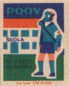 https://flic.kr/p/m9AUug | czechoslovakian matchbox label