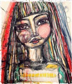 rachelle+panagarry+art+pinterest | Art Journal play with Inktense! by Rachelle Panagarry http://www ...