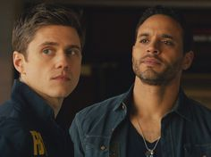Aaron Tveit in the pilot for Graceland
