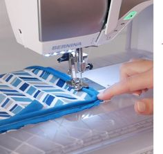 """There are several different forms of piping: mini piping, jumbo piping, decorative piping, you name it! This tutorial demonstrates how to create a pillow with ¼"""" piping using the BERNINA 480 with the BERNINA Bulky Overlock Foot Sewing Hacks, Sewing Tutorials, Sewing Patterns, Sewing Tips, Sewing Ideas, Piping Tutorial, Sewing Piping, Piping Techniques, Pipe Decor"""