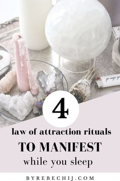 Use this powerful rituals five minutes before you go to bed at night to manifest love, money or anything else you desire while you sleep! How to manifest everything you desire while sleeping - this law of attraction tehnique will blown you away! Manifestation Journal, Manifestation Law Of Attraction, Law Of Attraction Affirmations, Secret Law Of Attraction, Law Of Attraction Quotes, Money Affirmations, Positive Affirmations, Manifesting Money, The Secret Book