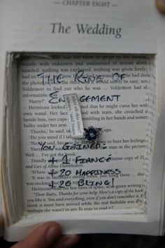 Harry Potter wedding proposal