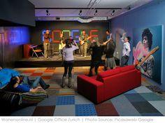 Binnengluren bij: Google Zürich #inspiratie #kantoorinrichting #interieur