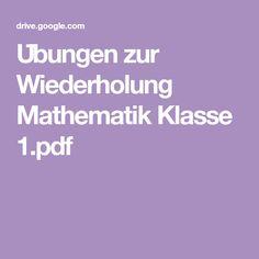Übungen zur Wiederholung Mathematik Klasse 1.pdf
