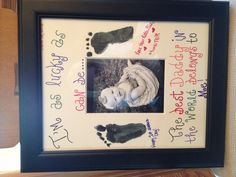 1st Fathers Day gift to Clay!