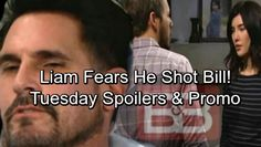 The Bold and the Beautiful Spoilers: Tuesday, March 27 – Liam& Memory Returns, Fears He Shot Bill – Steffy Begs for Help Jacqueline Macinnes Wood, Soap News, Bold And The Beautiful, Be Bold, Tuesday, Laundry, March, Memories, Laundry Room