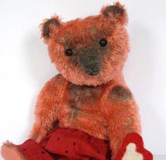 Lyle 12 OOAK Mohair Bear by Pat Murphy by MurphyBears on Etsy
