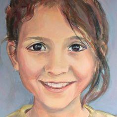 Portret door Lida Meines