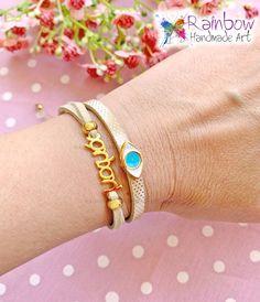 #handmade #bracelets #happymothersday #eyes #μαμά Happy Mothers Day, Handmade Bracelets, Bangles, Eyes, Jewelry, Fashion, Bracelets, Moda, Jewlery