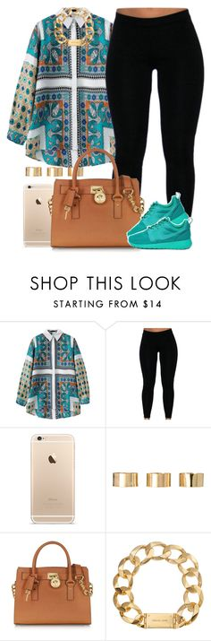 """""""This day is going by fast to me.."""" by livelifefreelyy ❤ liked on Polyvore featuring moda, ASOS, Michael Kors y NIKE"""