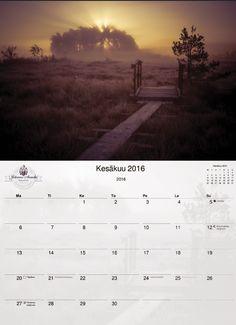 Kaunis kalenteri vuodelle 2016, painoksia rajoitetusti, tilaa omasi jo tänään! Tilausaikaa 26.10.2015 asti. 12 kaunista kuvaa Teijolta, jotka voit myöhemmin vaikka leikata irti ja kehystää seinällesi. Kalenterit painetaan Suomessa. http://www.salonsydan.fi/tuote/a3-kokoinen-kierrekalenteri-2016/