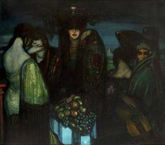 Las Ibéricas by Federico Beltrán Masses, 1924