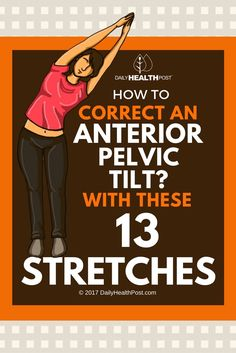 Anterior pelvic tilt is a common posture problem among runners and women who regularly wear heels. Sadly, it can cause serious hip and back pain.